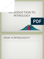 Intro to Petrology