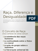 Raça, Diferença e Desigualdade
