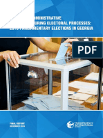 Misuse of Administrative Resources During Political Processes 2016 Parliamentary Elections