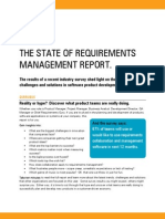 The State of Requirements Management Report