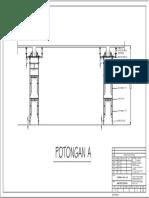 Potongan Tipikal Perancah (FL-FL 6meter)