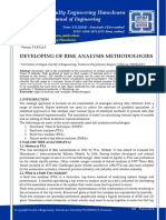 Developing of Risk Analysis Methodologies