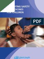 Promotion Safe Med Childrens
