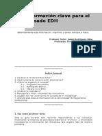 Syllabus - Informaci-n Clave EDH 1B