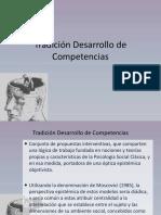 Tradición Desarrollo de Competencias