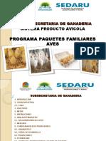 Presentación Prog Paq Fam Aves Traspatio