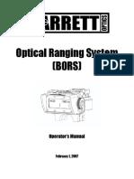 Barrett Bors Manual