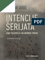 Intencije Šerijata kao filozofija islamskog prava, sistemski pristup - Dr. Džasir Avde