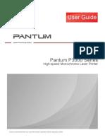 Pantum P3000 Series PCL User Guide en V1.1