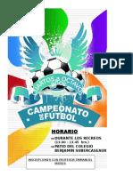 Afiche Futbol