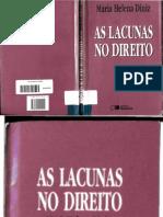 As Lacunas no Direito - Maria Helena Diniz.pdf