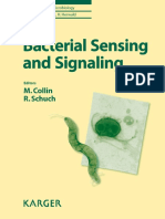 Bacterial Sensing and Signaling-Karger (2009)