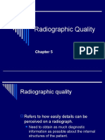 Ch. 5- Radiographic Quality