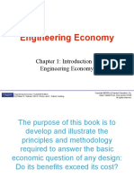 MSE604 Ch. 1 - Introduction to Engineering Economy