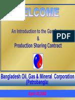 Petrobangla Production Sharing Contract Presentation