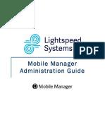 Lightspeed Mobile Manager V1.0