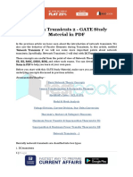 Network Transients 2 - GATE Study Material in PDF