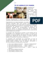 Alimentos de Animales de Crianza