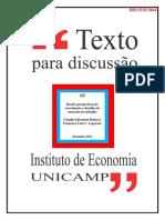 Dedecca - Brasil - Crescimento e Desafios para Mercado de Trabalho
