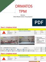 Formatos de TPM LUP, Estandarizacion y Kaizen