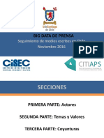 Big Data. Informe de Prensa Noviembre