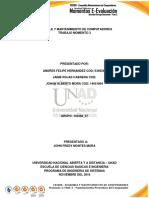 Informe 3_Mantenimiento y Ensamble de Computadores