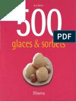 Barker Alex - 500 Glaces & Sorbets