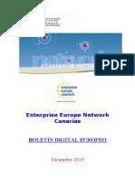 Boletín Digital Europeo EEN Canarias Nº11-2013