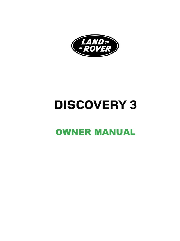 Land Rover 3 Discovery 2006