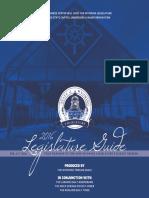 2016 Legislature Section