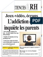 Jeux-Video Ecrans Laddiction Qui Inquiete Les Parents