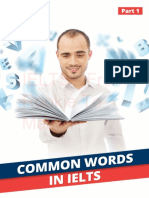 Common Words in IELTS