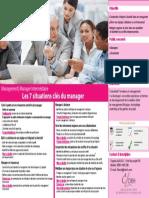 Les 7 Situations Cl s Du Manager