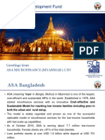 Greenfielding Financial Institutions in Myanmar