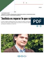"""""""Justicia Es Reparar Lo Que Se Ha Roto"""" _ Página12 _ La Otra Mirada"""