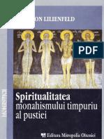 (Fairy von Lilienfeld) Spiritualitatea monahismului timpuriu al pustiei.pdf
