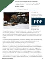 """""""La Faja del Orinoco se va a quedar como una curiosidad geológica,"""" según experto Carlos Mendoza Potellá.pdf"""