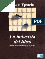 Jason Epstein - La Industria Del Libro