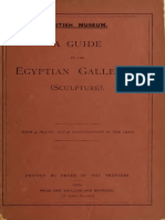 A Guide to the Egyptian Galleries Vol 1