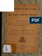 The Return of the Exiles and the West African Church