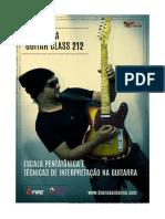 Escalas Pentatônicas e Técnicas de Interpretação Na Guitarra