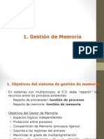 Gestion Memoria
