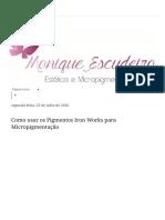 Como usar os Pigmentos Iron Works para Micropigmentação.pdf