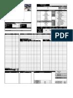 Character Sheet v 2.0