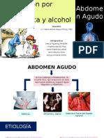 Urgencia-Expo-5- Abdomen Agudo e Intoxicación