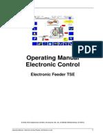 Operating Manual - Feeder