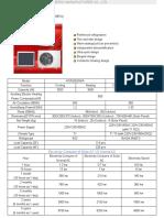 Catalog of Solar Air Conditioner