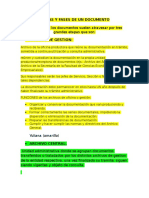 Etapas y Fases de Un Archivo
