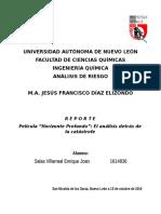 Análisis de Riesgo - Reporte Horizonte Profundo