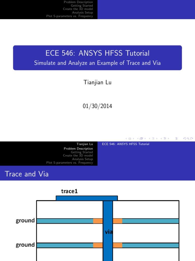 tutorial pdf | Electrical Engineering | Electromagnetism